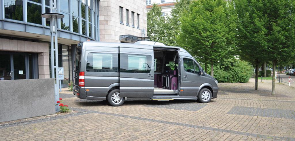 Sprinter luxus van diewert busse gmbh co kg for Innendekoration vankann gmbh